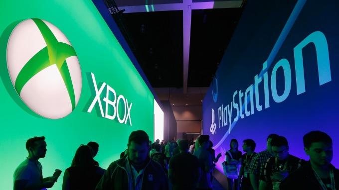 微軟和索尼聯手合作,開發雲端的遊戲服務、半導體與人工智慧項目。 (圖片:AFP)