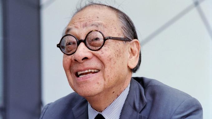 建築大師貝聿銘享嵩壽102歲(圖片:AFP)