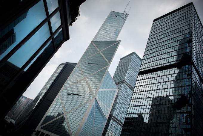 中銀大廈 (圖片:AFP)
