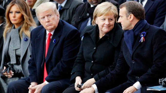 川普有意對歐洲進口汽車加徵關稅。(圖片:AFP)