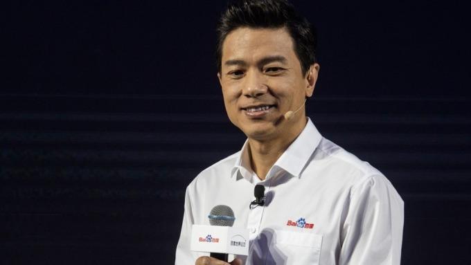 百度董事長李彥宏 (圖片:AFP)