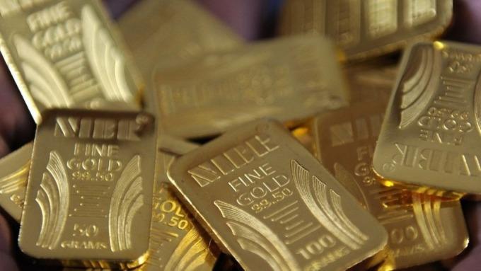 美中貿易需求觸發避險情緒,黃金價格可望重拾漲勢。(圖:AFP)