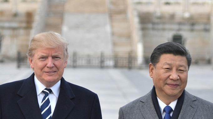 (圖片:AFP) 中美貿易談判陷入停頓