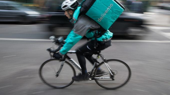 Deliveroo (圖片:AFP)