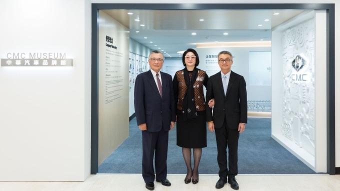 中華車日前推出品牌館,圖中為裕隆集團執行長嚴陳莉蓮。(圖:中華車提供)