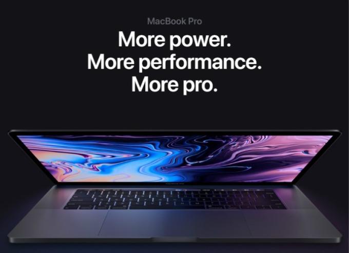 蘋果推出首款 8 核心 MacBook Pro。(圖片:翻攝蘋果官網)