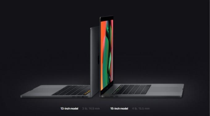 蘋果官網週二 (21 日) 推出首款 8 核心 MacBook Pro。(圖片:翻攝蘋果官網)