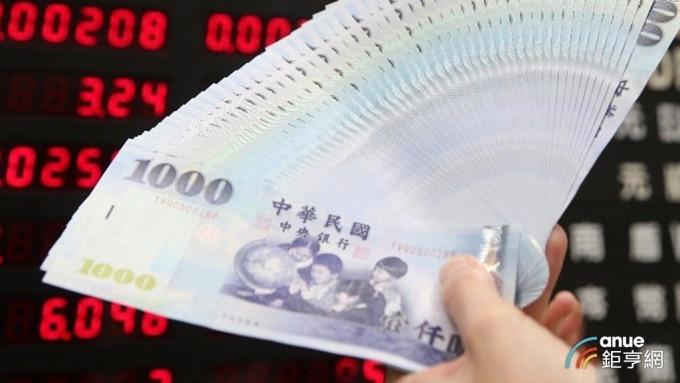 台幣早盤最低來到31.549元。(鉅亨網資料照)