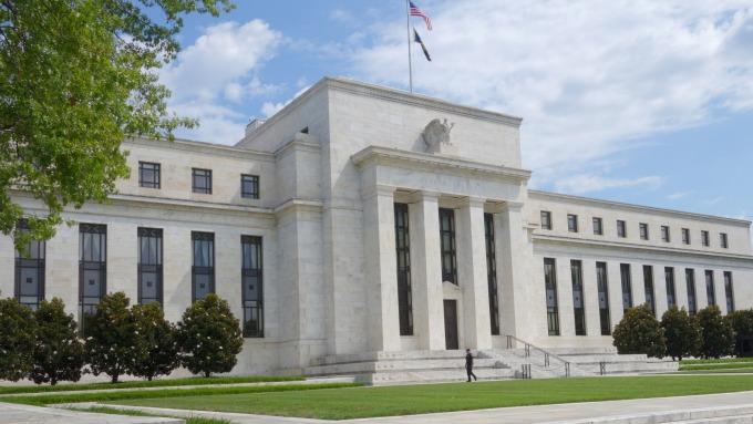 (圖片:AFP) 聯準會(Fed)大樓