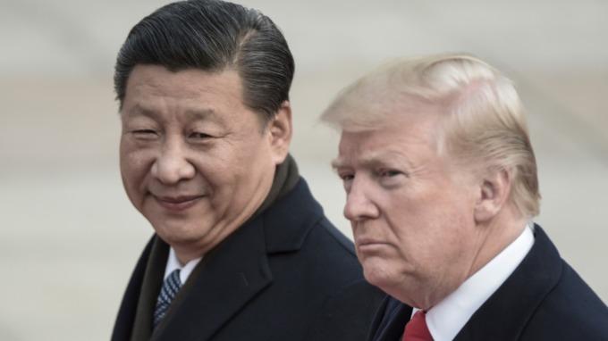 習近平(左)與川普(圖片:AFP)