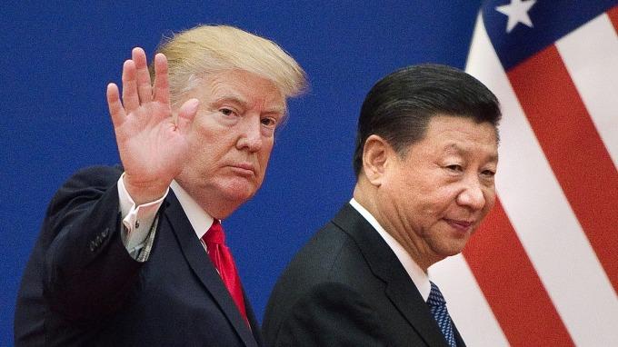 美中貿易爭端持續升溫。(圖片:AFP)