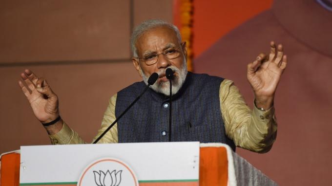 印度現任總理莫迪(Narendra Modi) (圖:AFP)