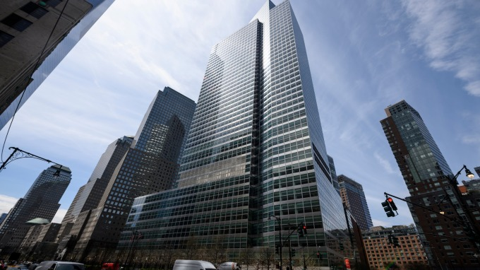 Goldman Sachs Group (來源:AFP)