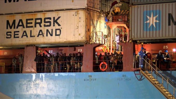 Maersk (來源:AFP)