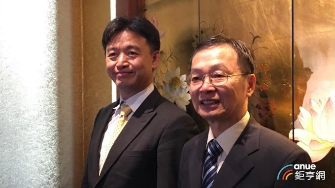 右起為碩禾董事長陳繼明、總經理黃文瑞。(鉅亨網資料照)