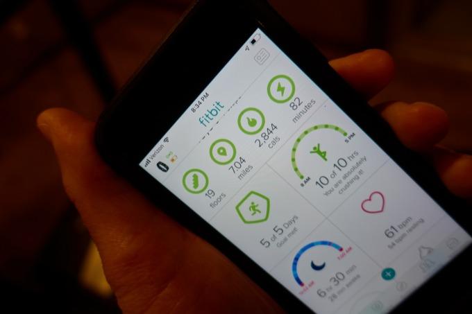 Fitbit App 圖片來源 Shutterstock