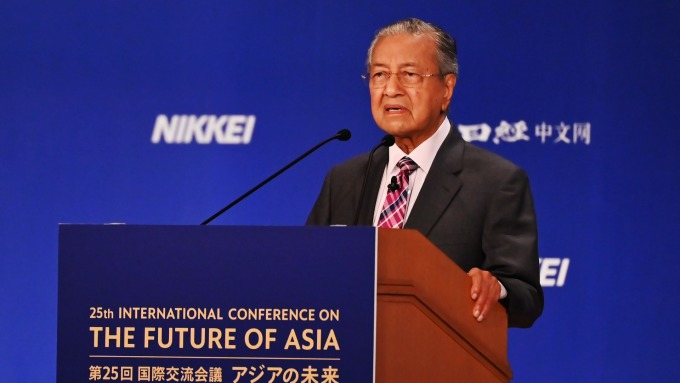 馬來西亞總理馬哈地(圖片:AFP)