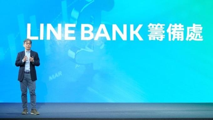 LINE Bank籌備處執行長黃以孟。(圖:LINE提供)