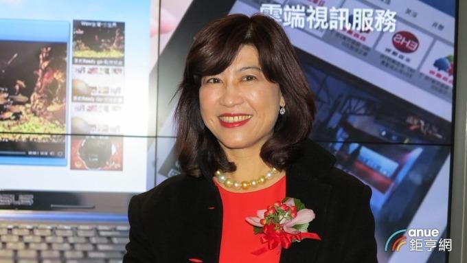 廖紫岑今接任董事長台數科董事長。(鉅亨網記者張欽發攝)