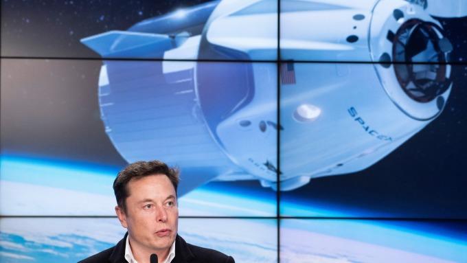 此消彼長 馬斯克的SpaceX現在比特斯拉值錢了(圖:AFP)