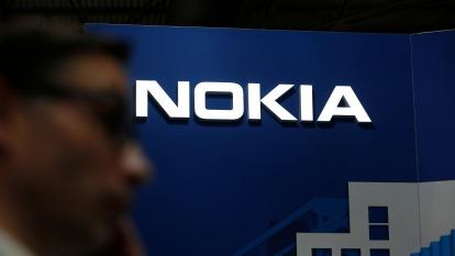 諾基亞趁勢崛起,搶食 5G 大餅。(圖片:AFP)