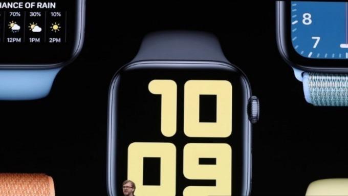 Apple Watch有專屬APP Store (來源:AFP)