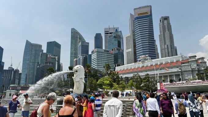 新加坡5月PMI季減0.4至49.9,為近三年來首次出現萎縮 (圖:AFP)
