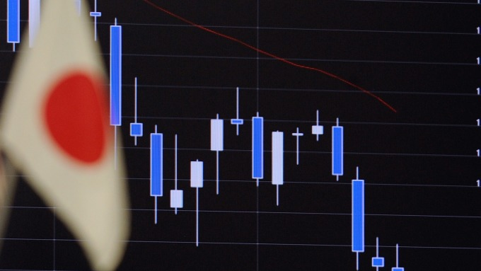 日10年債殖利率一度創下近2年10個月新低。(圖片:AFP)