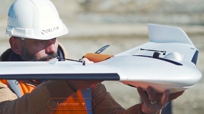 無人機產業競爭激烈,最終還是得靠軟體一較高下。(圖: Delair官網)