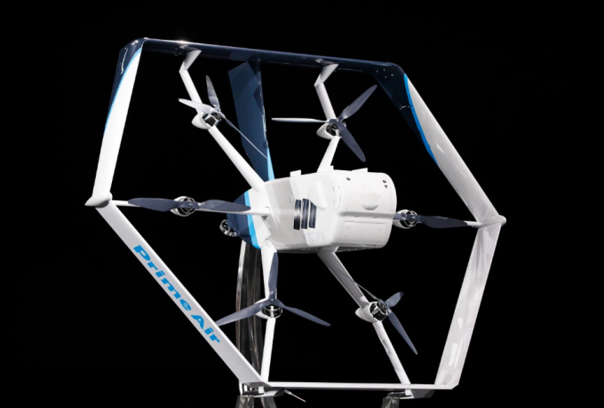 亞馬遜送貨無人機Prime Air(圖片:techcrunch)