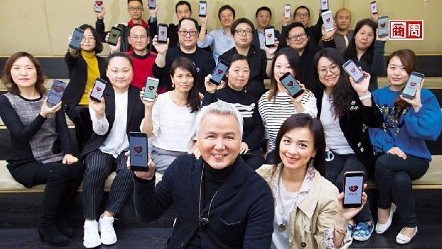 上海達爾威貿易總裁林瑞陽(前排左)(攝影者.郭涵羚)