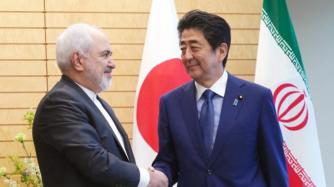 日本首相安培赴伊朗 欲調停美對伊朗石油制裁(圖:AFP)