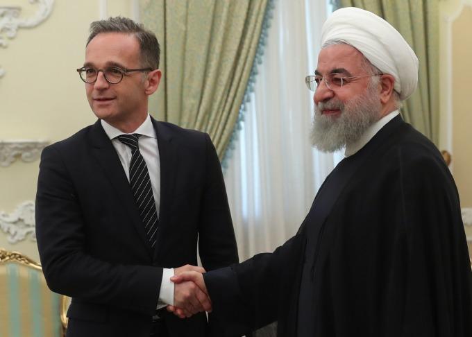 德國外長前往德黑蘭欲緩解核協議 (圖: AFP)