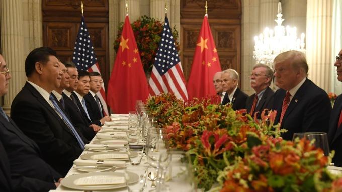 川普週二稱:除非恢復早前條款 否則我沒興趣。(圖片:AFP)