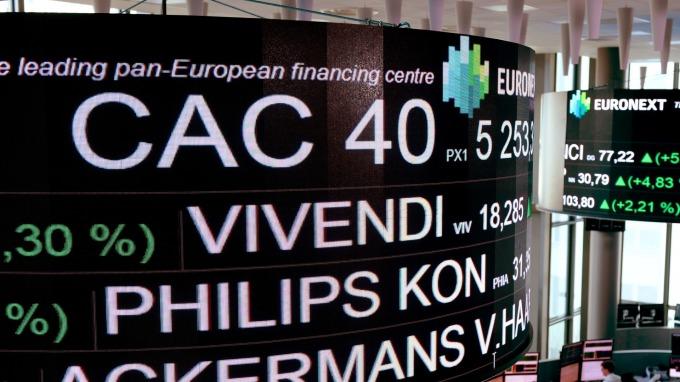 歐股盤後─無視關稅威脅重燃 泛歐指數收高0.69% (圖片:AFP)
