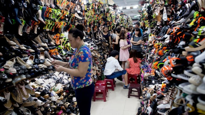 寶成蔡佩君示警,越南已無便宜工資了。(圖:AFP)