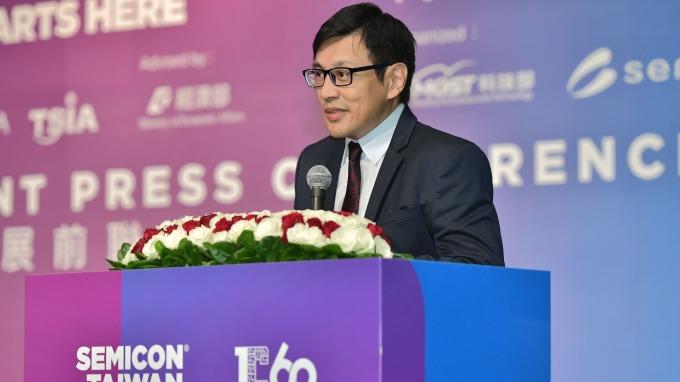 SEMI更新第2季全球晶圓廠預測報告。圖為SEMI 台灣區總裁曹世綸。(圖:SEMI提供)