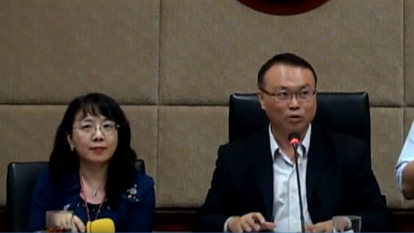 圖左為科長許琦雪,右為主秘蕭祈宏。(圖:NCC提供)