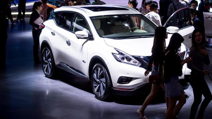 CAAM資料顯示,中國5月汽車銷量年減逾16%,連續第11個月下滑。(圖片:AFP)