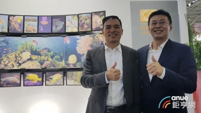 元太董事長柯富仁(左)、總經理李政昊(右)。(鉅亨網資料照)