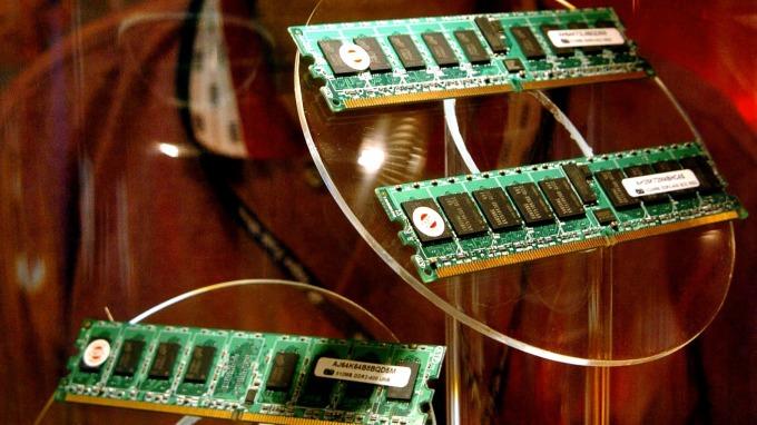中國首款DRAM可望年底量產(圖片:AFP)