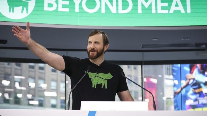 華爾街無分析師推薦買進Beyond Meat(圖片:AFP)