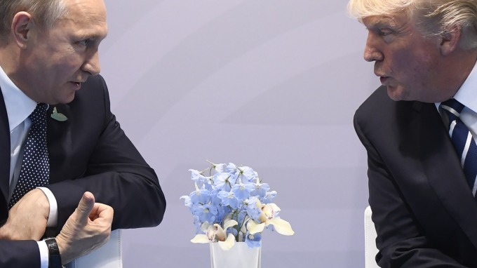 川普政府已對俄羅斯祭出數十項制裁,普丁認為,俄美關係「越來越糟糕」。(圖片:AFP)