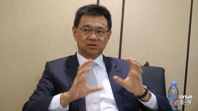 達麗建設董事長謝志長。(鉅亨網記者張欽發攝)