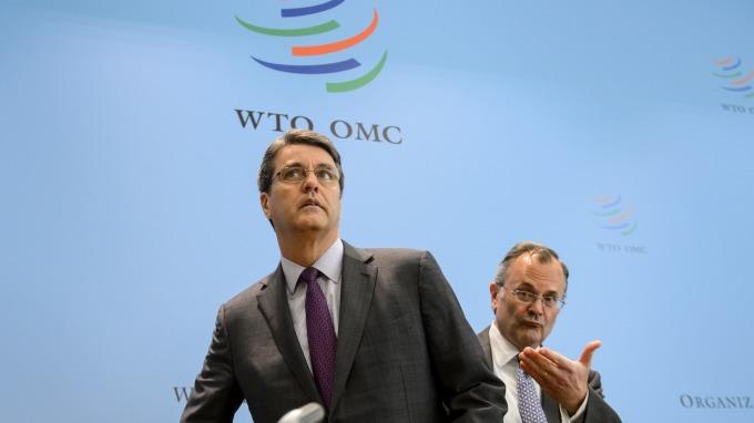 WTO示警,貿易戰恐使全球貿易量縮水17%。(圖片:AFP)