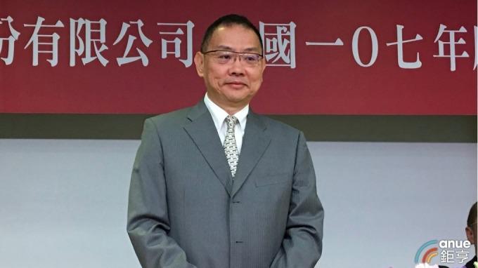 華邦電今(14)日召開股東會。圖為董事長焦佑鈞。(鉅亨網資料照)