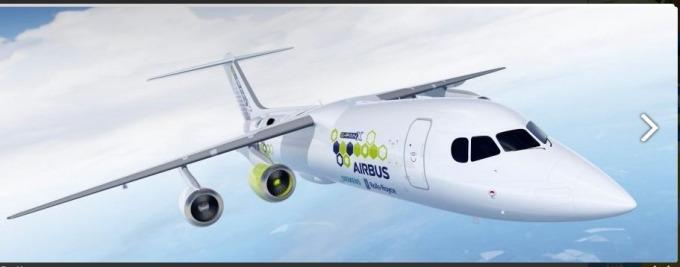 西門子與空中巴士研發出此款電動飛機 (圖片: 西門子)
