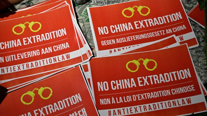 香港街頭抗議逐漸平息 要求延遲條例修訂的呼聲高漲(圖片:AFP)