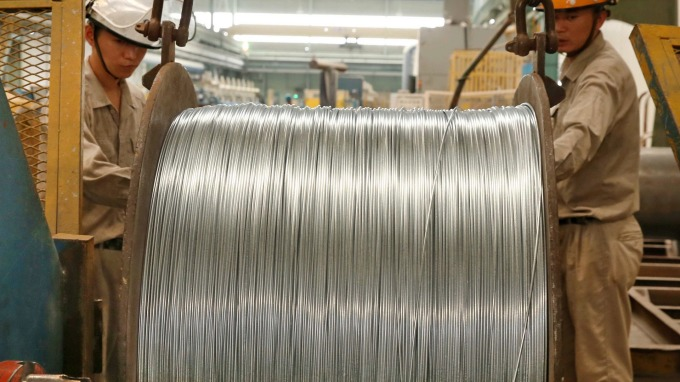大陸商務部調升美進口鋼管反傾銷稅率約10倍(圖片:AFP)
