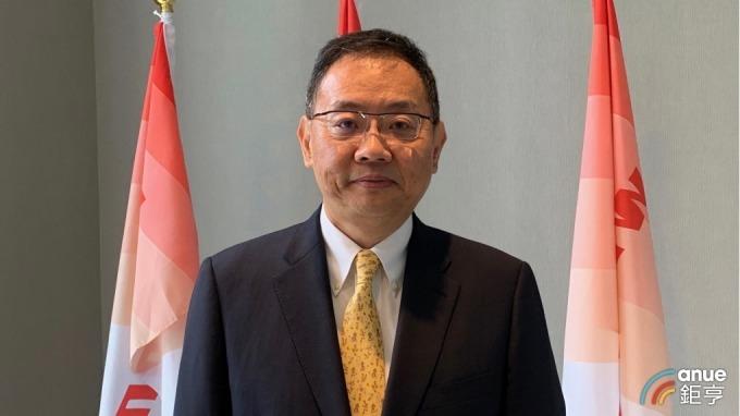 華邦電董事長焦佑鈞。(鉅亨網記者林薏茹攝)